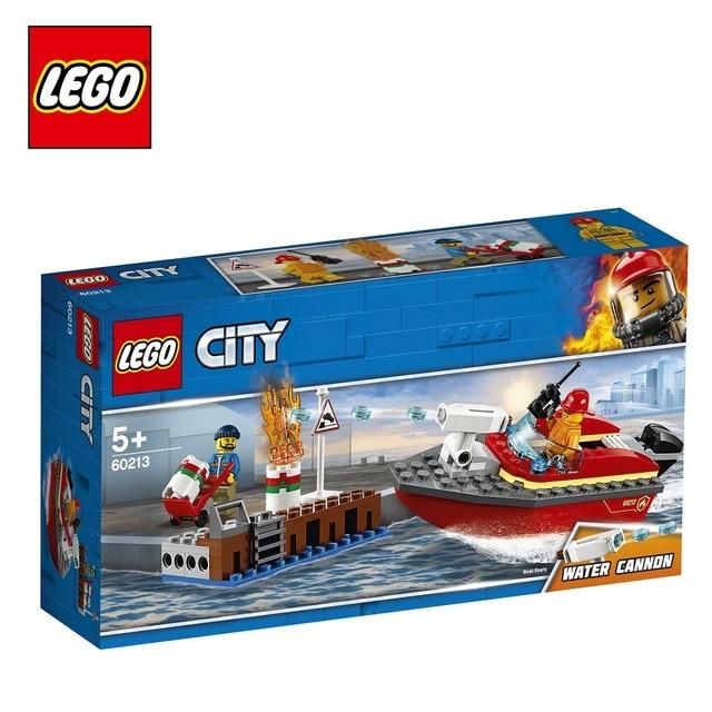 Конструктор LEGO City Fire 60213 Пожар в порту