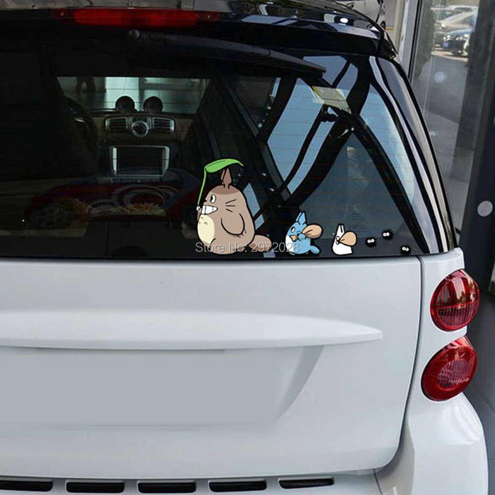 Забавный креативный мультфильм классический фильм Мой сосед Тоторо С семена дуба Автомобиль Стайлинг украшения автомобиля весь тело наклейки Наклейка