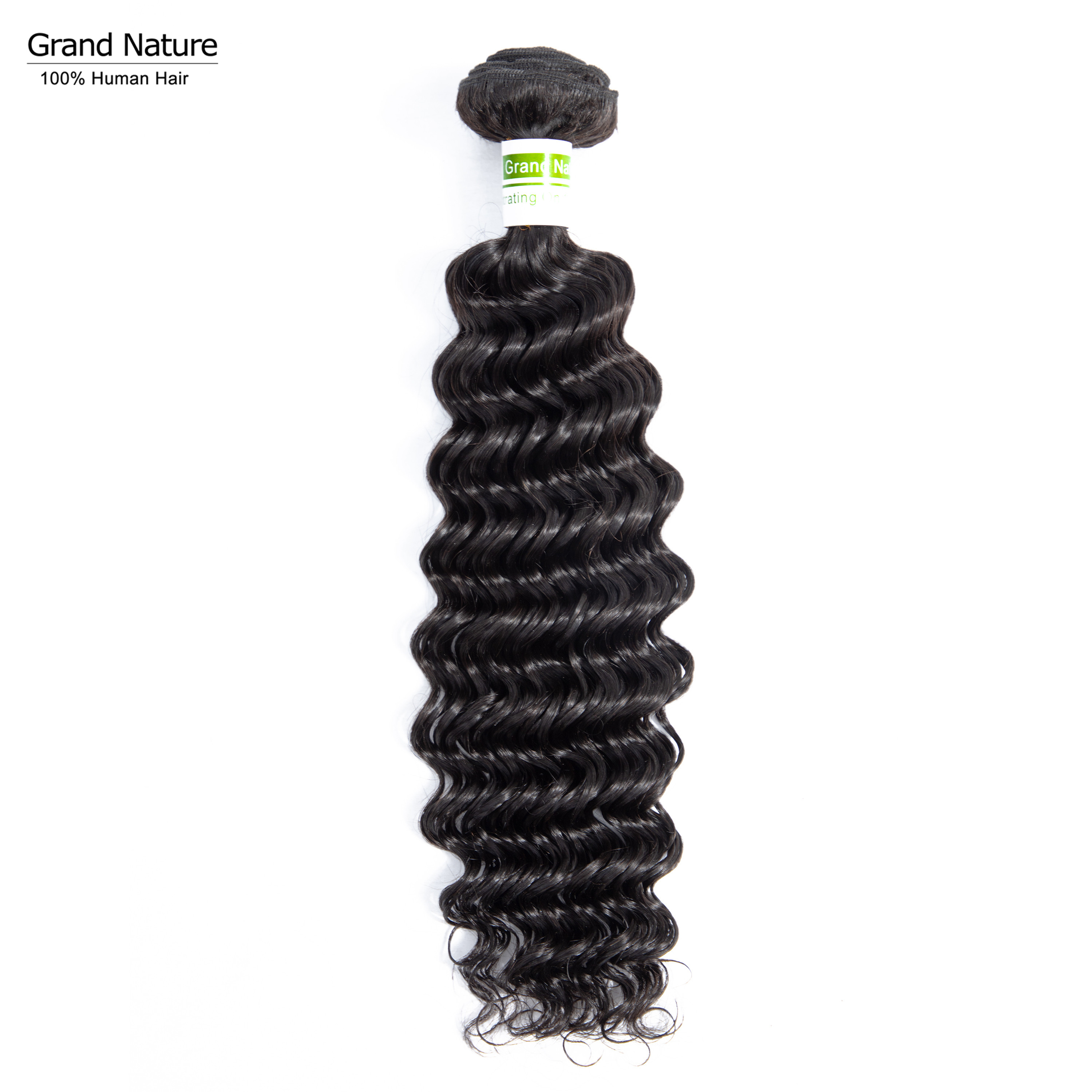Brazilian Virgin Hair Bundle With Deep Wave Human Hair Extensions Ocean Wave Human Hair Weaves One Donor Can Buy 3 Ot 4pcs