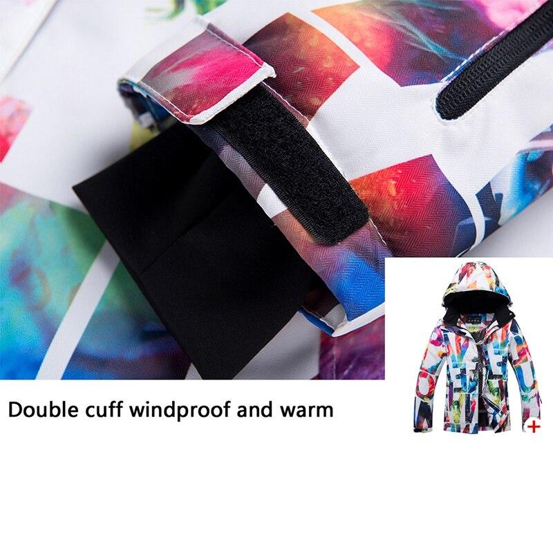 Arctique QUEEN Ski vestes femmes snowboard veste femme hiver vêtements de sport neige Ski veste respirante imperméable coupe-vent - 5