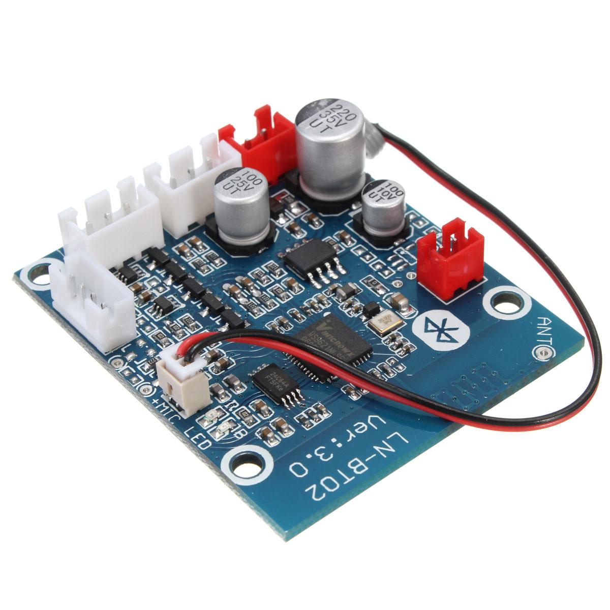 Unterhaltungselektronik Audio Empfänger Modul Bluetooth 4,0 Wireless Stereo Mp3 Für Pc Neue Auto Telefon Rheuma Und ErkäLtung Lindern