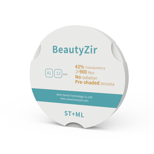 multilayered 95mm Zirkon zahn zirconia blank super translucency for dental cad cam system