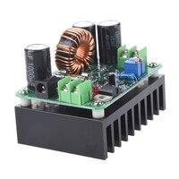 1 pces 10a DC-DC 600 w 10-60 v a 12-80 v conversor de impulso step down buck conversor step-up módulo fonte de alimentação