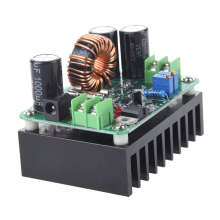 1pcs 10A DC-DC 600W 10-60V to 12-80V  Boost Converter Step Down Buck Converter Step-up Module Power Supply automatic step up down dc power supply at30 converter buck boost module replace xl6009 4 30v to 0 5 30v