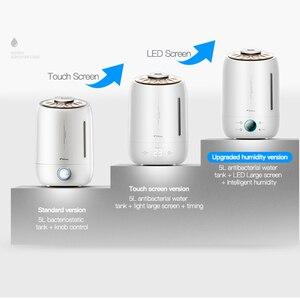 Image 3 - Deerma diffuseur darôme et humidificateur dair Original, brumisateur ultrasonique, 5l, pour la maison écran tactile Led