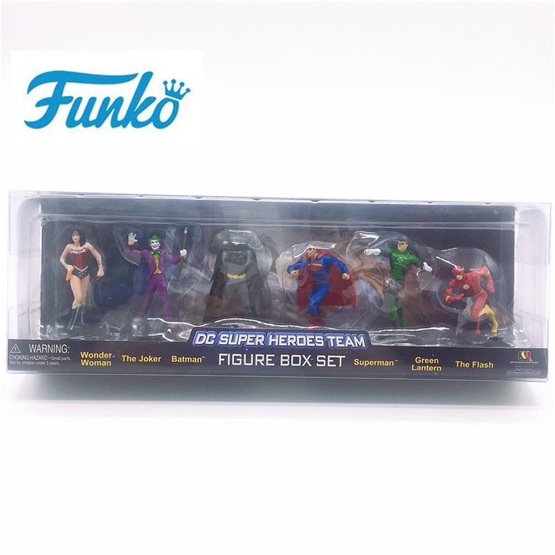 FUNKO POP! DC Wonder femme Joker Batman Superman vert lanterne le Flash vinyle poupée figurines d'action fête d'anniversaire cadeau modèle jouet
