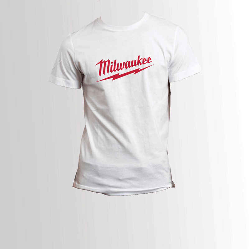 Milwaukee Tools White T-Shirt Men's Tee