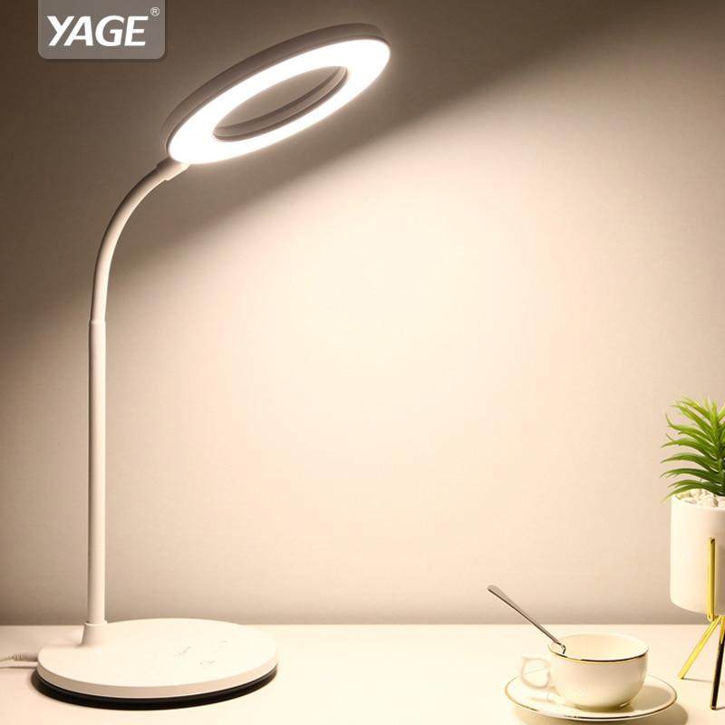Aifeng Auge Usb Powered Led Licht Für Tisch Stufenlose Dimmen Flexible Metall Schwanenhals Schreibtischlampe Tischlampe Für Studie Licht & Beleuchtung