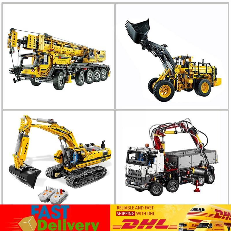 LEPIN 20004 20005 20006 20007 Technic jouets de contrôle motorisés blocs de voiture briques construction Compatible 42009 42023 42030 8043 cadeaux