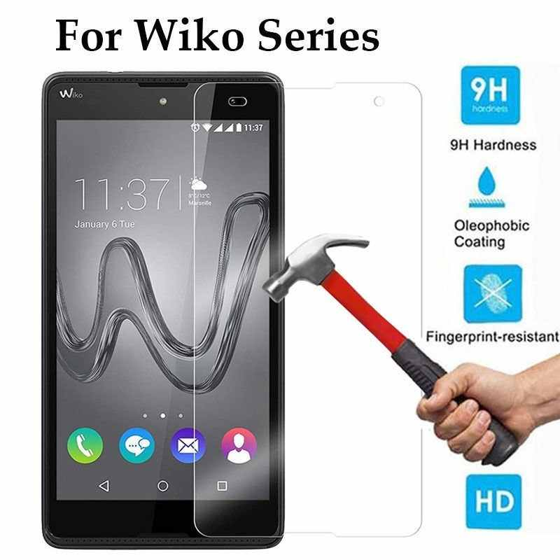 Gehard Glas HD Clear Screen Protector Film Voor Wiko Tommy 3 Sunny 3 plus Mini Lite View 2 Pro gaan U Voelen Fab Harry2 Jerry Max