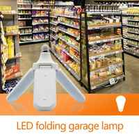 E27 45W LED Folding Garage Light 85-265V Constant Current Light Bulbs Indoor Outdoor Wterproof Bulbs