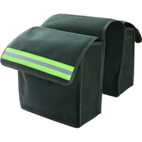 2pcs Universal Motorcycle Saddle Bags Luggage Pannier Simple canvas Helmet Tank Bags