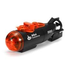 Инновационные Rc подводных лодок міпітип высокое Скорость светодиодный свет Инфракрасный 4 Каналы Скорость Лодка на дистанционном управлении Drone модель подарок игрушка детская