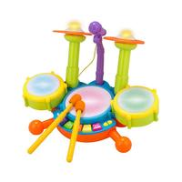 New Baby Musical Drum Toy Kids Jazz Drum Kit Electronic Percussion Musical Instrument Children Educational Toys Creative Gift