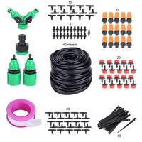 Home sale 40M Micro Garden Greenhouse Plants Watering Hose Nozzles Kit Water Irrigation System Mist Sprinkler Water Kits System