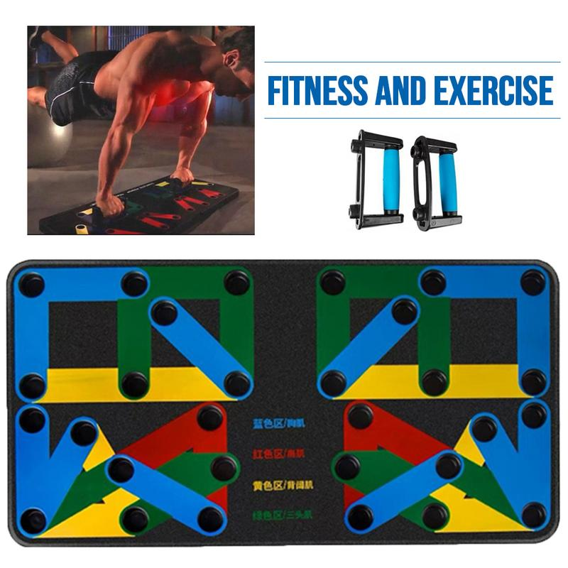 Power Press Push Up Board Multifunction I Shaped Home Fitness Equipment Fitness Training Device Indoor Push
