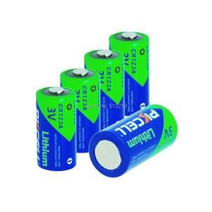 Image 2 - Bateria cr123a cr123 cr 123 cr17335 123a cr17345 (cr17335) 16340 3v baterias de lítio de 5 pces pkcell 2/3a para carmera
