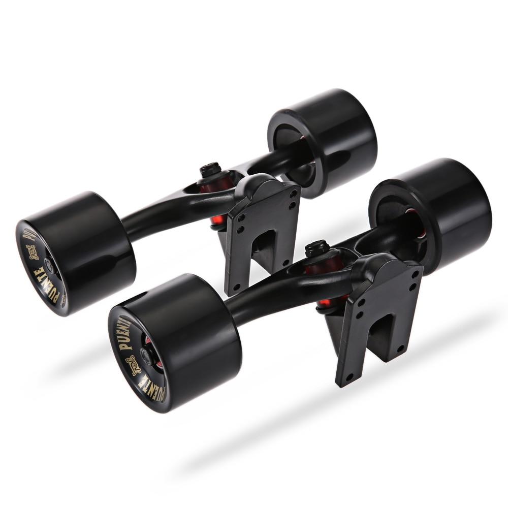 Camion de planche à roulettes PUENTE 2 pièces/ensemble avec écrou de palier ABEC-9