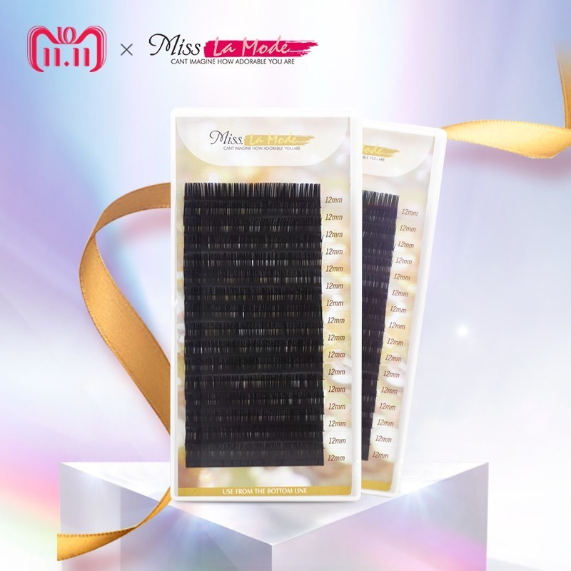 Miss Lamode Super Soft  All Size 1pc/lot BCD Curl  Mink  Eyelashes Extension Individuals Eyelashes Extensions  Wimper