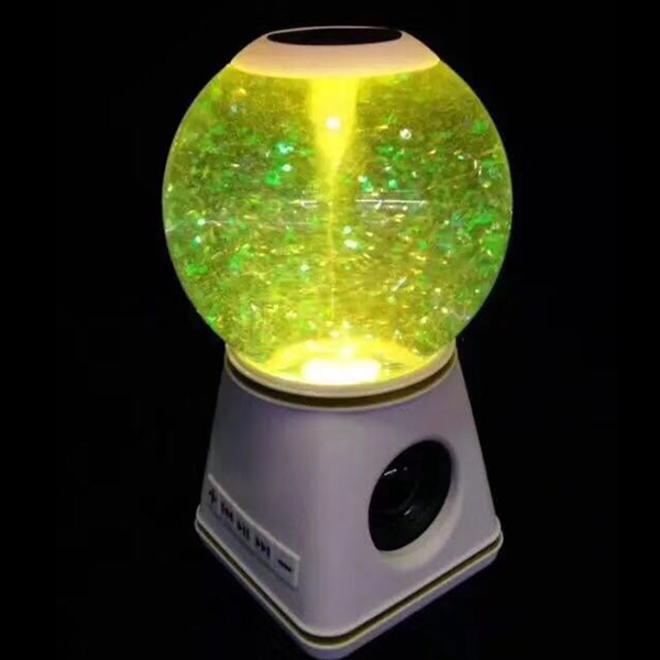 Bluetooth Speakers with Crystal Ball Wireless Portable Speaker for Home Car GDeals