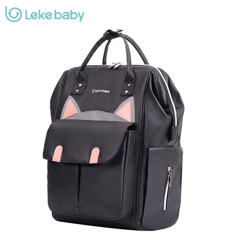 Lekebaby sac à couches momie sac mère bébé poussette voyage momie maternité changement Nappy sac à couches sac à dos sacs pour maman