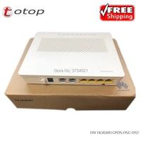 free shipping HUAWEI modem hg8240h GPON ONU ONT 4FE+2TEL fiber optic onu gpon modem Same Function As HG8245H HG8247H