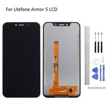 Дисплей сменный экран для Ulefone Броня 5 ЖК-дисплей Touch Экран 5,85 дюймовый черный для Ulefone Броня 5 Touch Экран ЖК-дисплей без рамки