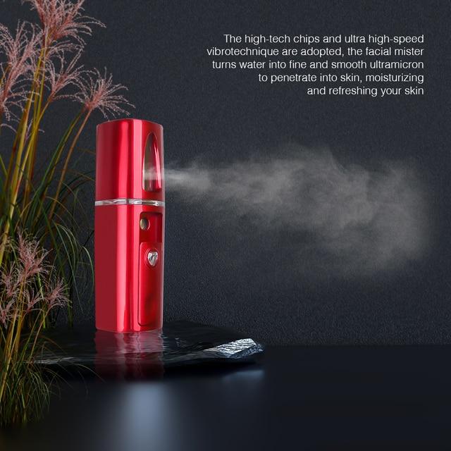 USB Portable Facial Steamers Nano Mist Sprayer Face Skin Care Tools Moisturizing Skin Care Face Spray Beauty Instruments Device