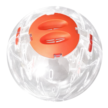 Hamster Breathable Clear Ball Without Bracket Hamster Toy Pets Product Small Running Ball 3  Colors Plastic Fit for Small Pets 2