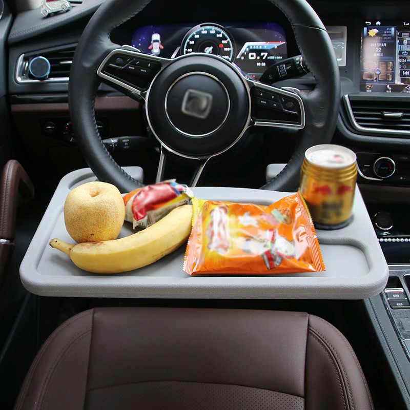 Авто ноутбук стол руль столик для сиденья Рабочий стол контейнер для еды черный новый