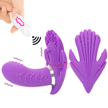 USB Charging Butterfly Invisible Vibrator Panties Wireless Remote Wearable 30 Speeds Strap On Dildo Vibrator for