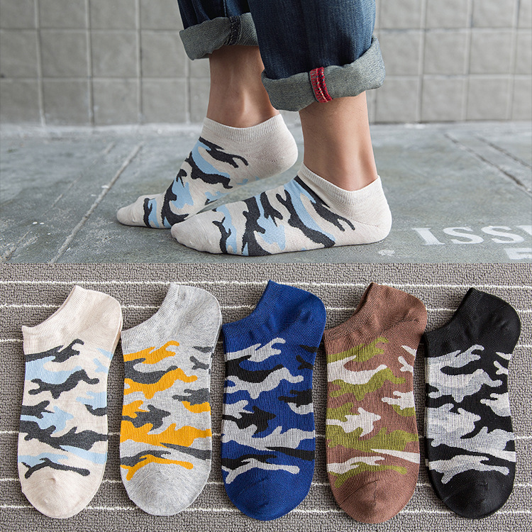 6b347760db44 2019 New Fashion Men Socks Camouflage Style Cotton Mountaineering Cozy Socks  Socks Spring Autumn Young Men Sox Drop Shipping-in Men's Socks from  Underwear ...