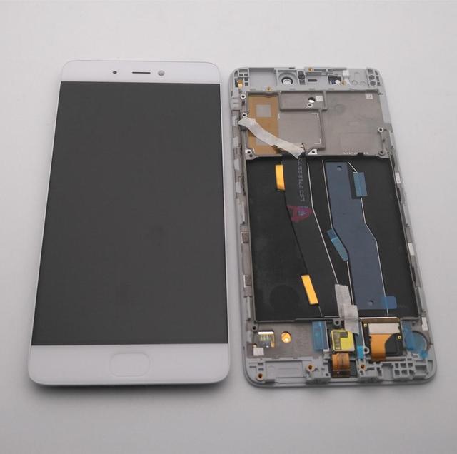 """オリジナル 5.15 """"xiaomi Mi5S mi 5 4s lcdディスプレイ + タッチスクリーンデジタイザーアセンブリ表示フレーム + 作業指紋 + ツール"""