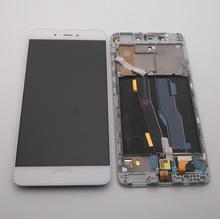 """Originale Per 5.15 """"Xiaomi Mi5S Mi 5S Display LCD + Touch Screen Digitizer Assembly Con Frame + di lavoro di Impronte Digitali + Strumenti"""