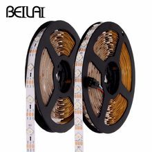 1M 5M WS2812B LED Strip Waterproof DC 5V Smart Pixel Control Full Color RGB LED Strip 5050 With WS2812 IC Flexible Neon Tape Luz(China)