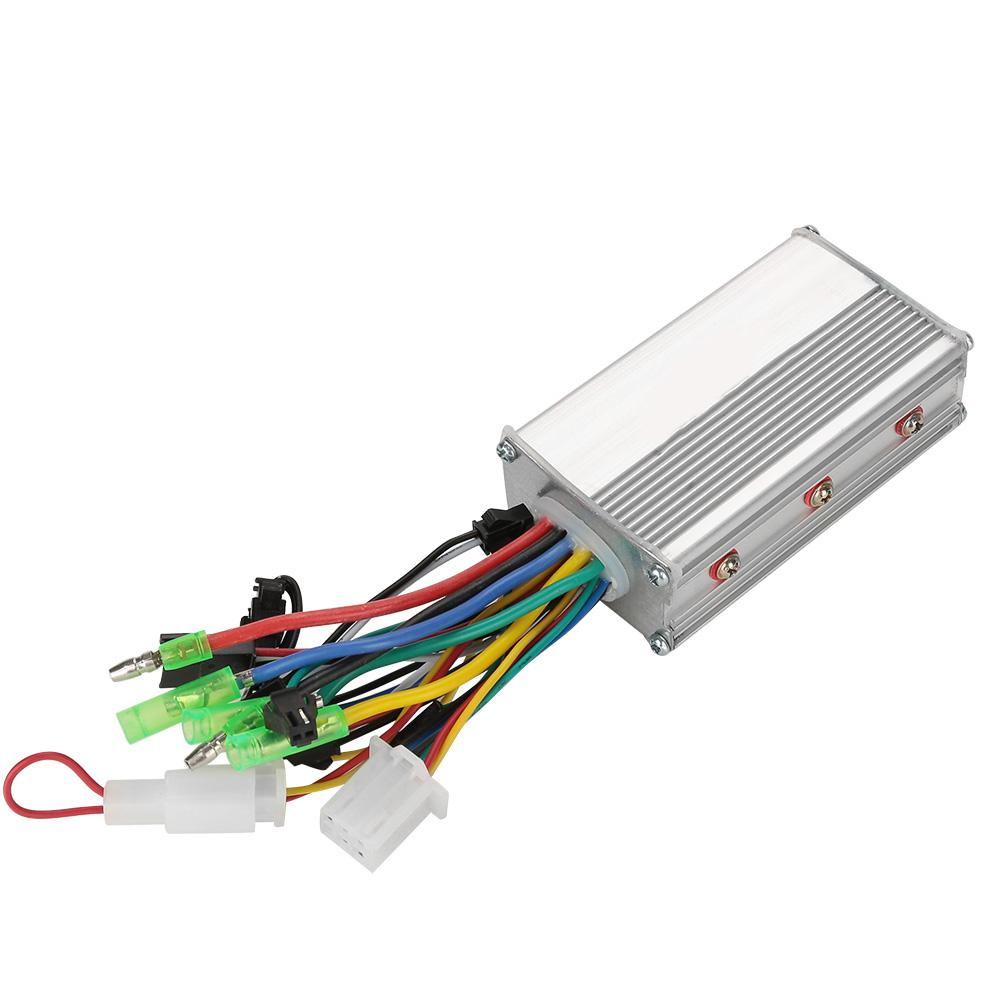 36V/48V 250W Brushless Electric Bicycle Controller E-bike/E-scooter/Electric Bike Motorcycle Scooter Speed Controller Accessory