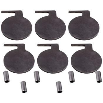 "For AR500 Dueling Tree Steel Target 6pcs 6"" x 3/8"" Pads DIY Shooting UDV"