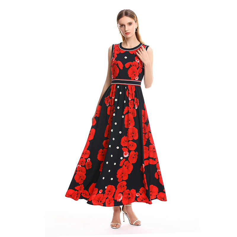 Women's Clothing Very Xia Chao Fairy Fairy French Niche Dress Sexy All Embroidery Lace Backless Dress Seaside Holiday
