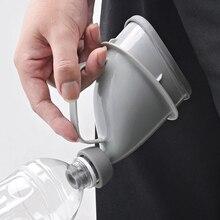 Портативные автомобильные писсуары для взрослых, пластиковые бутылки, воронка, мочалка, туалет для кемпинга, многофункциональные функции для использования в экстренных ситуациях на открытом воздухе
