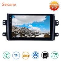 Seicane Android 9.0 2din Car Multimedia Player Bluetooth WIFI GPS Navigation For 2006 2007 2008 2009 2010 2011 2012 Suzuki SX4