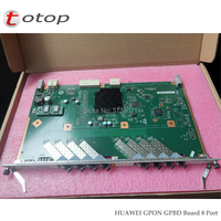 Huawei 8 Ports GPON Board GPBD for GPON OLT MA5680T or MA5683T, HW GPBD Card with 8 SFP Modules