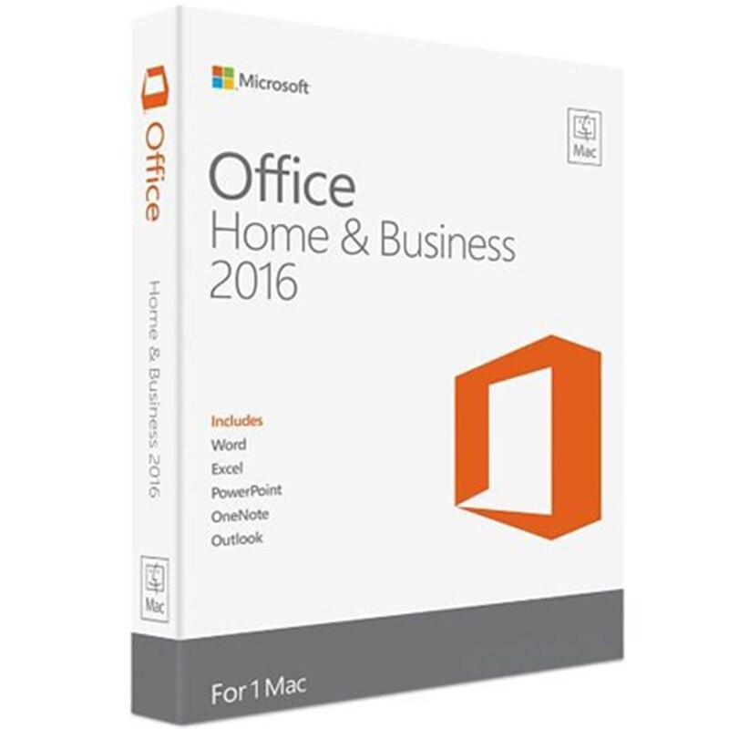 Image 3 - Microsoft Office для дома и бизнеса 2016 для Mac лицензионный Код продукта розничная торговля в коробке-in Офисное ПО from Компьютер и офис