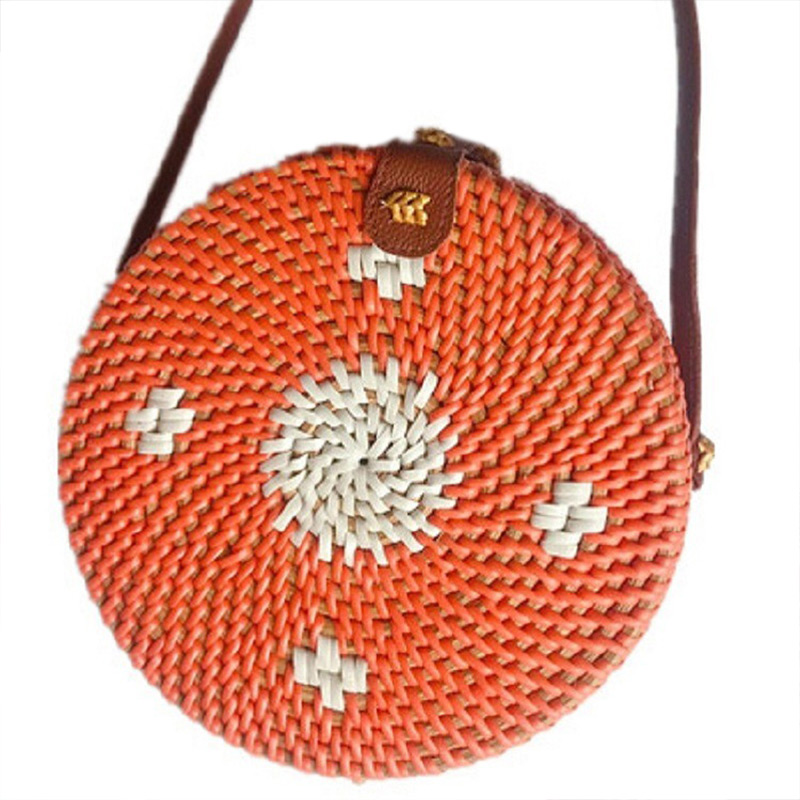 1d1f51aa8566 Tweet Bird 2019 Straw Bag Woven Rattan Circular Bag Summer Beach Tote For  Women Leisure Vacation. US  22.89. TweetBird Women Handbag Fashion Female  ...