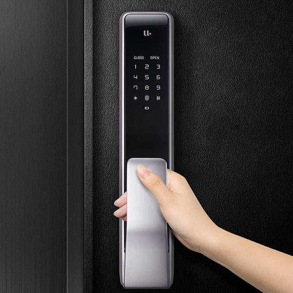 Furniture Accessories Xiaomi Youpin M2 Automatic Fingerprint Sliding Lock Smart Sliding Lock Automatic Push-pull Smart Remote Control For Mijia App #3