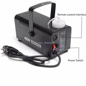 Image 2 - Machine à fumée 400W/Mini Machine de désinfection datomisation à télécommande sans fil/éjecteur de fumée détape/brumisateur détape de Disco de DJ
