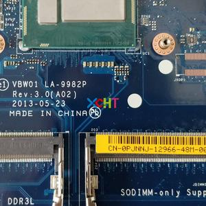 Image 3 - CN 0PJNNJ 0PJNNJ PJNNJ LA 9982P w i3 4010U CPU for Dell Inspiron 15R 5537 3537 NoteBook PC Laptop Motherboard Mainboard
