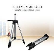 Для лазерного нивелира автоматический самонивелирующийся 360 градусов измерительный уровень штатив строительный уровень строительные маркеры инструменты 1200 мм штатив