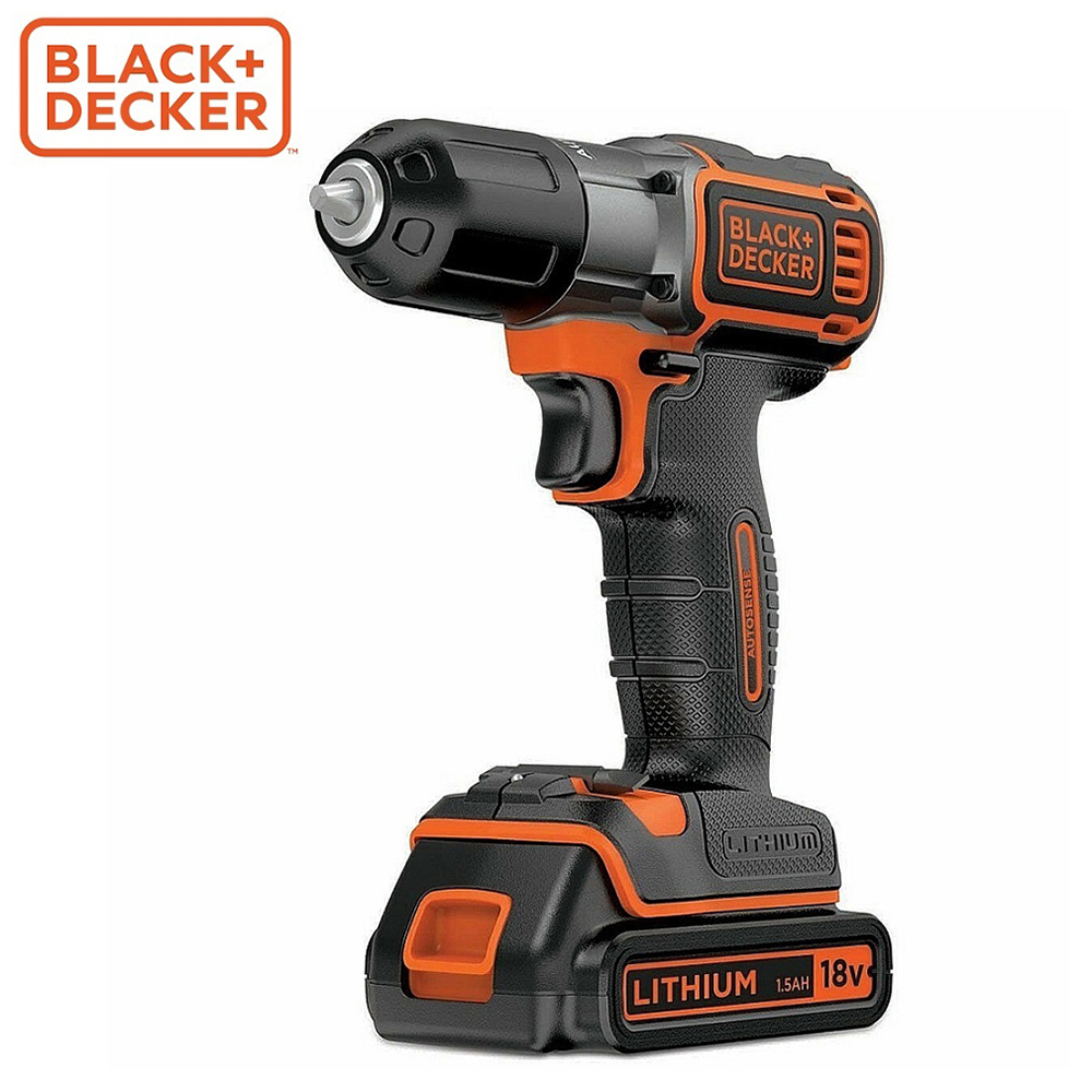 Screwdriver Black+Decker ASD18KB-QW screwdrivers drill repair hand tools home repairs screwdriver black decker ld12sp ru screwdrivers drill repair hand tools home repairs