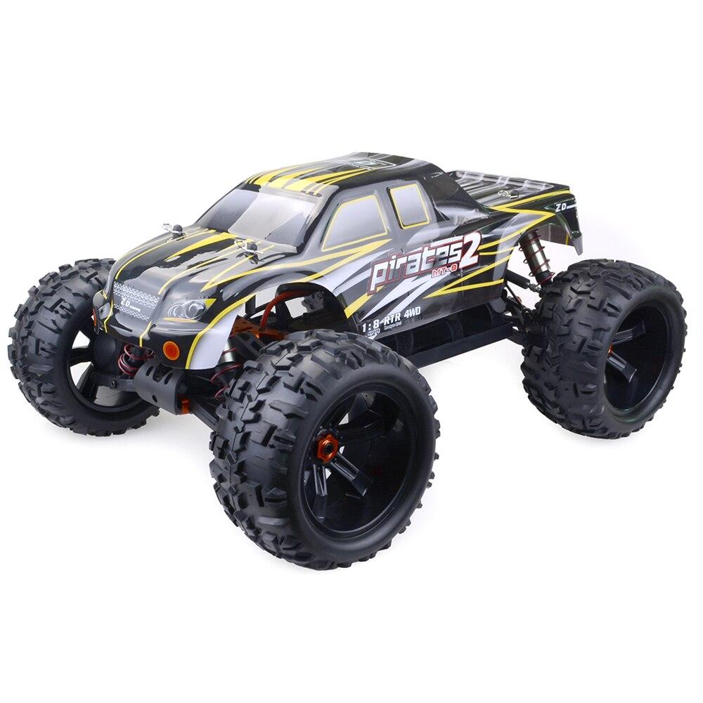 Дистанционное управление игрушка 4WD RC внедорожный автомобиль 120A ESC 4068 бесщеточный двигатель без батареи 4068 бесщеточный двигатель 200kv Monster