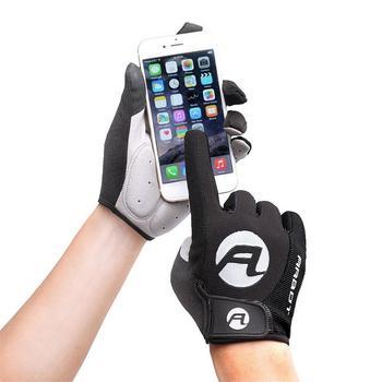 1 Pair Women Men Cycling Gloves Full Finger Bicycle Anti Slip Gel Pad Motorcycle MTB Road Bike Luva Mitten